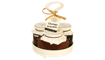 Cottage Delight Chutney Cruet Selection