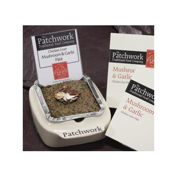 Patchwork Whole Pate - Chicken Liver, Mushroom & Garlic (455g)
