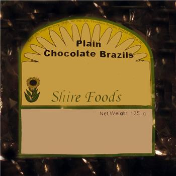 Shire Foods Milk Chocolate Brazil Nuts (100g)