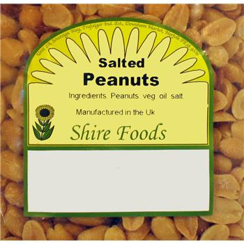 Shire Foods Salted Peanuts (180g)