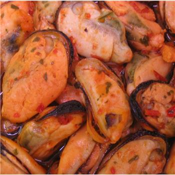 Mussels in a Spicy Sauce