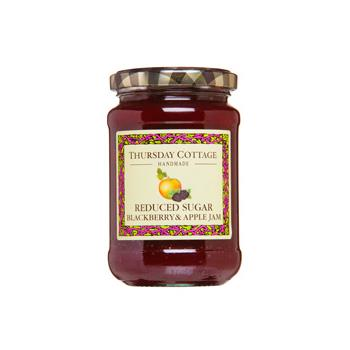 Thursday Cottage Reduced Sugar Blackberry & Apple Jam (315g)