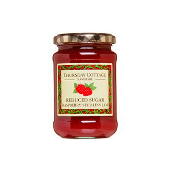 Thursday Cottage Reduced Sugar Seedless Raspberry Jam (315g)