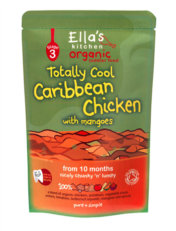 Ella's Kitchen Caribbean Chicken- Stage 3 Toddler Food