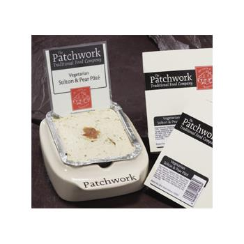 Patchwork Stilton and Pear Pate