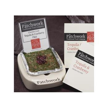 Patchwork Whole Pate - Chicken Liver, Tequilla & Cranberry (455g)