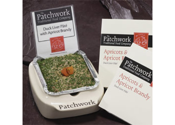 Patchwork Whole Pate - Duck Liver & Apricot Brandy (455g)