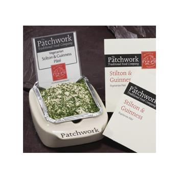 Patchwork Stilton and Guinness Pate
