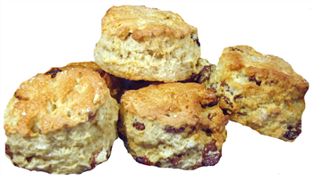 Margaret's Homemade Fruit Scones - pack of 6