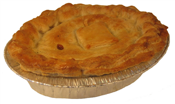 Russell's Homemade Lamb and Mint Pie (500g)