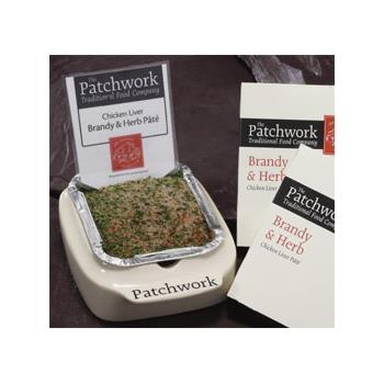 Patchwork Whole Pate - Chicken Liver, Brandy & Herb (455g)