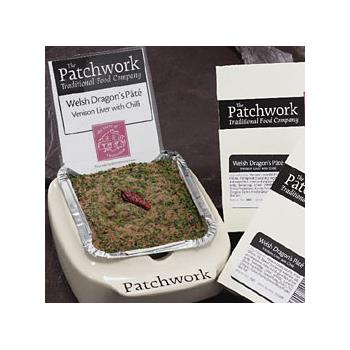 Patchwork Welsh Dragons Pate