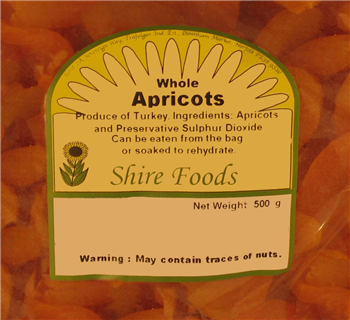 Shire Foods Dried Apricots (440g)